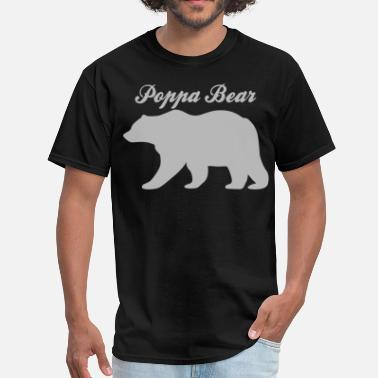 Poppa Poppa Bear - Men's T-Shirt