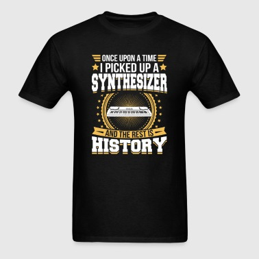 Synthesizer And the Rest is History T-Shirt - Men's T-Shirt