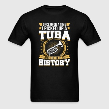 Tuba And the Rest is History T-Shirt - Men's T-Shirt
