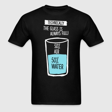 Water is full science t shirt - Men's T-Shirt