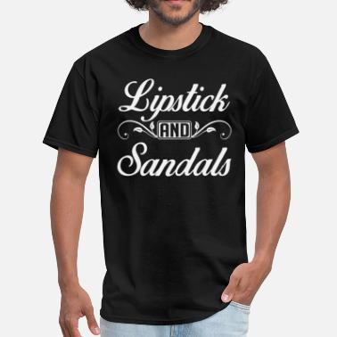 Sandal Lipstick and Sandals - Men's T-Shirt