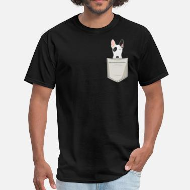 Terrier Bull Terrier In a Pocket - Men's T-Shirt