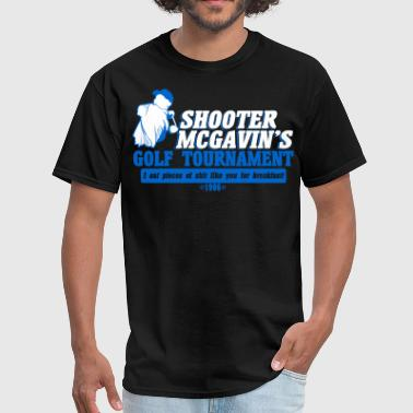 Funny Golf Shooter mcgavin's golf tournament - Men's T-Shirt