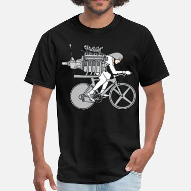 Itt cyclist motoring - Men's T-Shirt