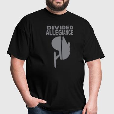Divided allegiance - Men's T-Shirt
