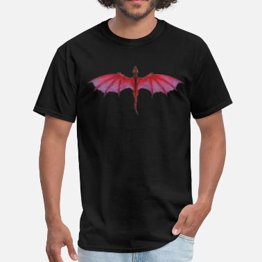 Dragon Quest Red Dragon - Men's T-Shirt