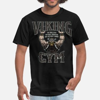 Viking Metal VIKING GYM - Men's T-Shirt