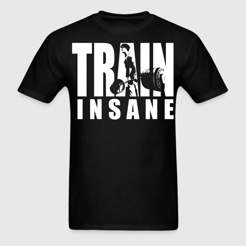 TRAIN INSANE - Deadlift Iconic - Men's T-Shirt