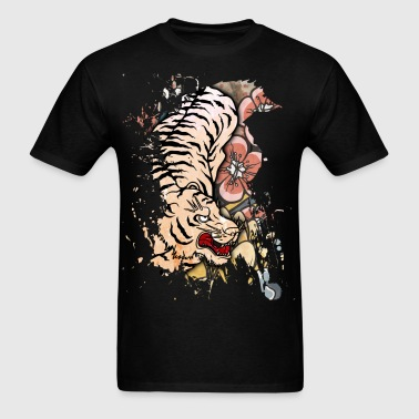 White Tiger - Men's T-Shirt