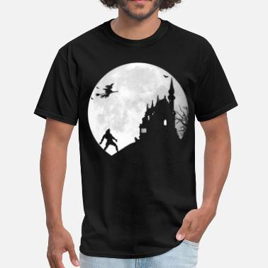 Full Moon Halloween … Full moon - Men's T-Shirt