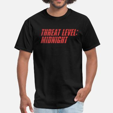 Threat Threat Level Midnight - The Office - Men's T-Shirt