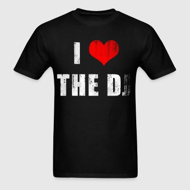 I Heart the D... J? - Men's T-Shirt