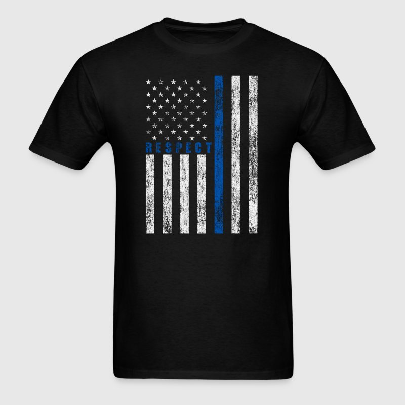 Respect Policemen - Men's T-Shirt