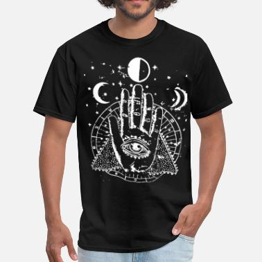 Witch Occult Witch (white) - Men's T-Shirt