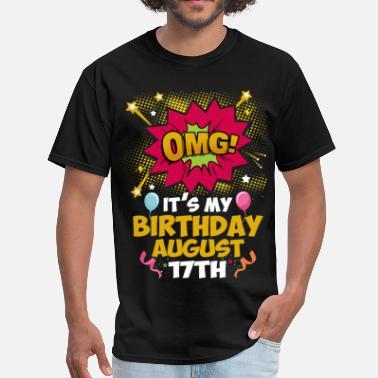 Its My Birthday August Seventeenth