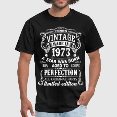 Vintage 1973 Birthday Vintage 1973 - Men's T-Shirt