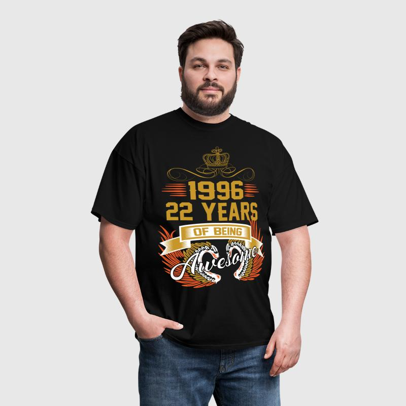 1996 22 Years Of Being Awesome - Men's T-Shirt