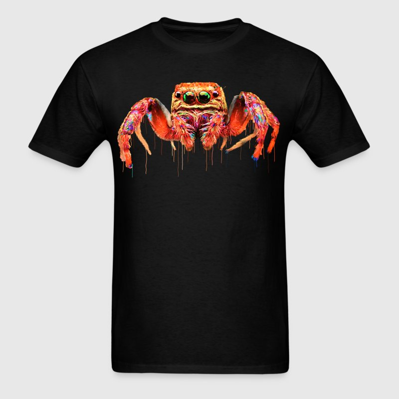 spider psychedelic - Men's T-Shirt