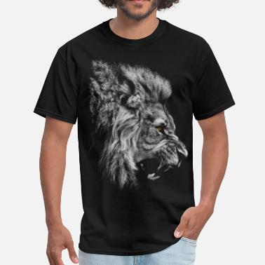 Lion King of the Jungle - T-shirt Homme