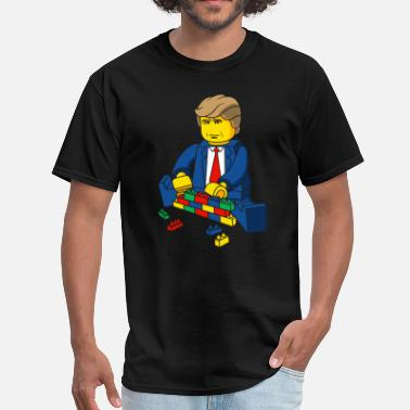 Trump Build A Wall Trump Build A Wall - Men's T-Shirt