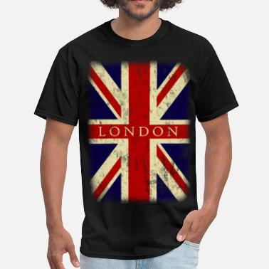 London vintage london flag - Men's T-Shirt