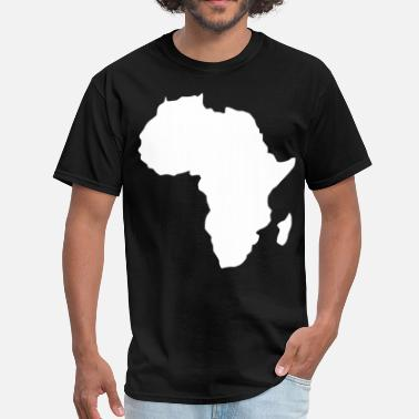 Africa Map AFRICA MAP PLAIN - Men's T-Shirt