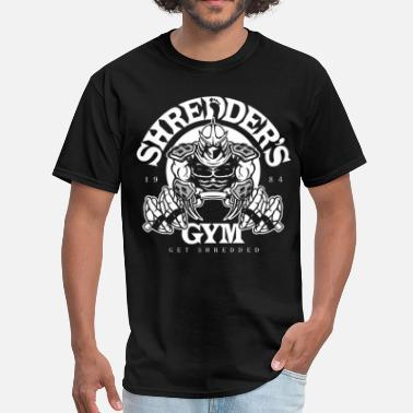 Shredder Shredders Gym - Men's T-Shirt