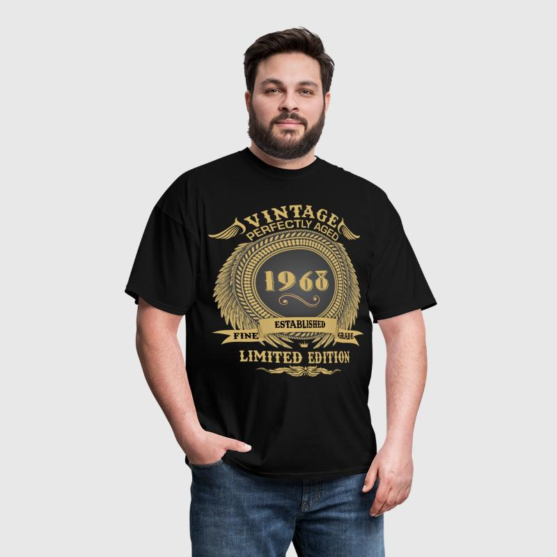 Vintage Perfectly Aged 1968 Limited Edition - Men's T-Shirt