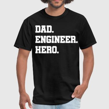 Engineer Father Father's day engineer - Men's T-Shirt