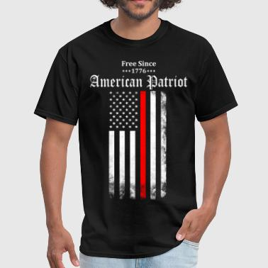 Free Since 1776 American Patriot - Men's T-Shirt