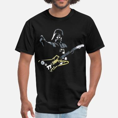 Darth Funny star wars darth vader rock star - Men's T-Shirt