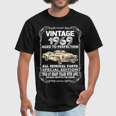 Perfect Born In 1969 VINTAGE 1969-AGED TO PERFECTION - Men's T-Shirt