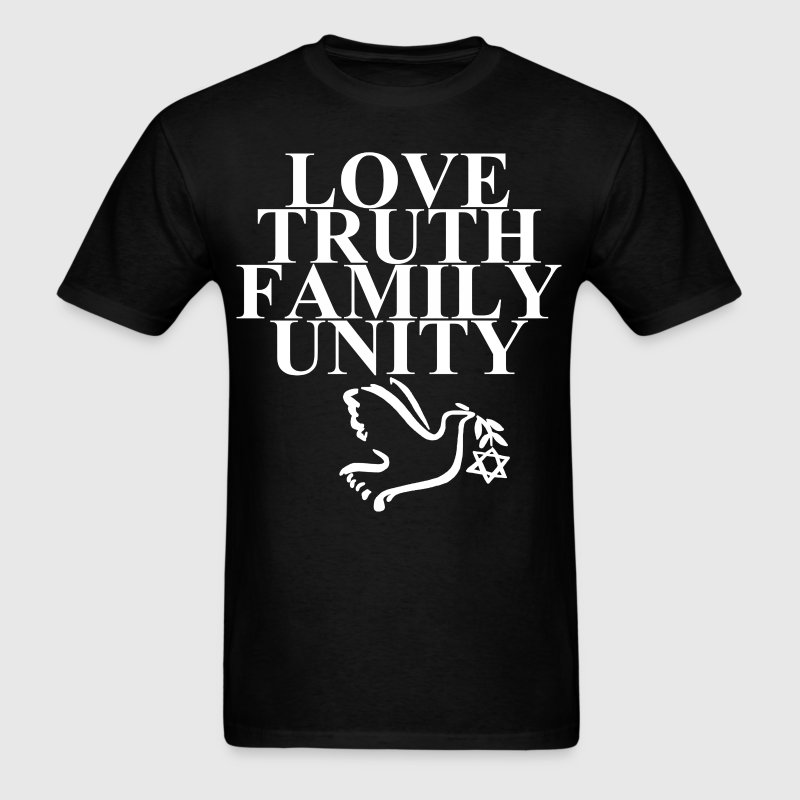 Love Truth Family Unity - Men's T-Shirt
