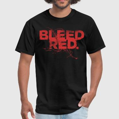 Bleed Red - Red - Men's T-Shirt