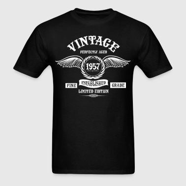Vintage Perfectly Aged 1957 - Men's T-Shirt