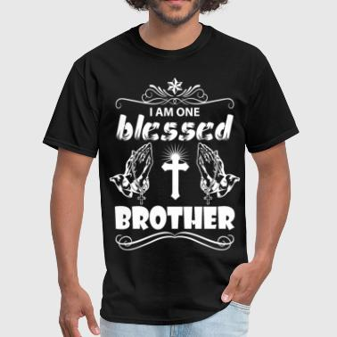 I Am One Blessed Brother - Men's T-Shirt