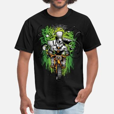 Motocross Events Motocross Ghouls - Men's T-Shirt