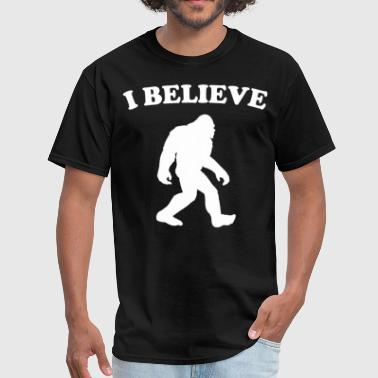Bigfoot I Believe Sasquatch Silhouette T-Shirt - Men's T-Shirt