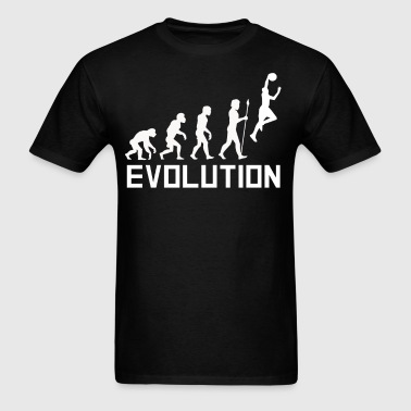 Basketball Dunk Evolution Funny Basketball Shirt - Men's T-Shirt