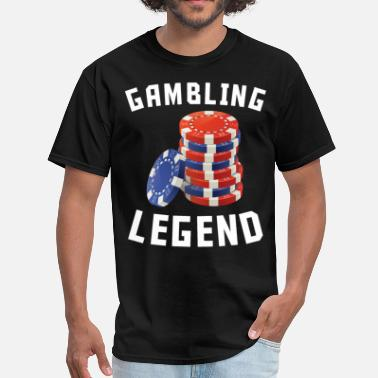 Casino Chips Gambling Legend Casino Chips - Men's T-Shirt