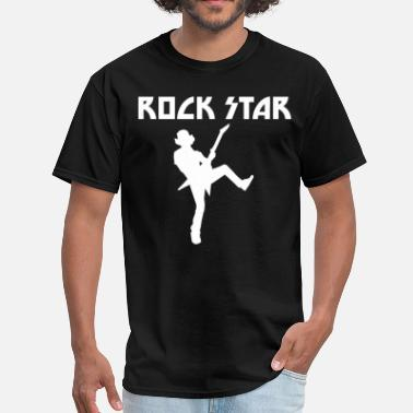 Rock Music Rock Star Guitarist Cool Music - Men's T-Shirt
