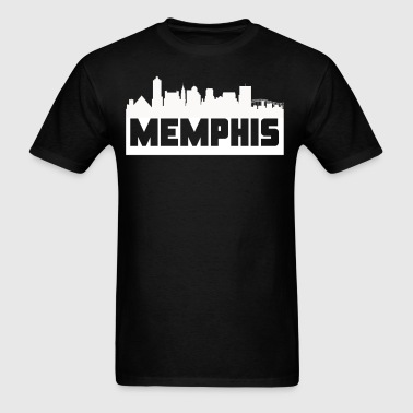 Memphis Tennessee Skyline Silhouette - Men's T-Shirt