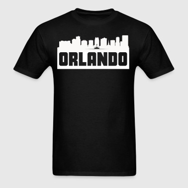Orlando Florida Skyline Silhouette - Men's T-Shirt