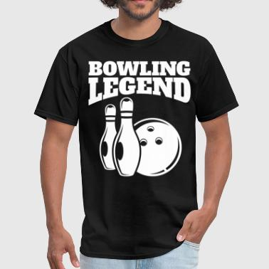 Bowling Legend Retro Bowling Legend - Men's T-Shirt
