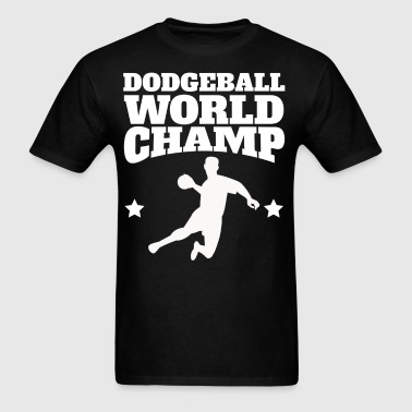Retro Dodgeball World Champ - Men's T-Shirt