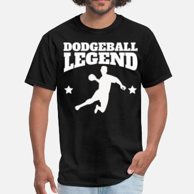 Dodgeball Legend Retro Dodgeball Legend - Men's T-Shirt