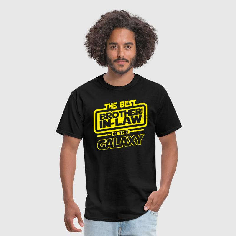 The Best Brother In Law In The Galaxy - Men's T-Shirt