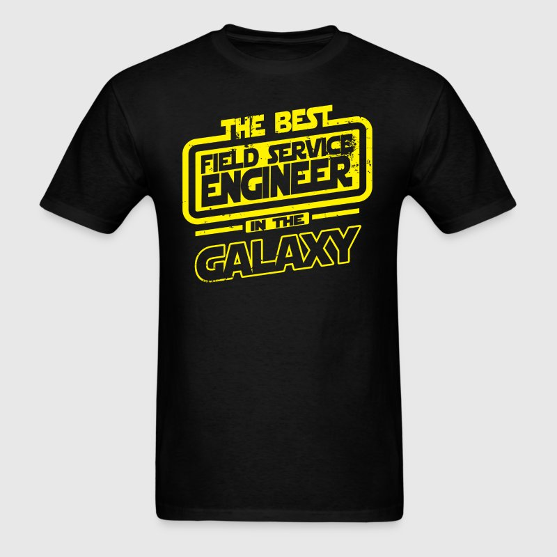 The Best Field Service Engineer In The Galaxy - Men's T-Shirt