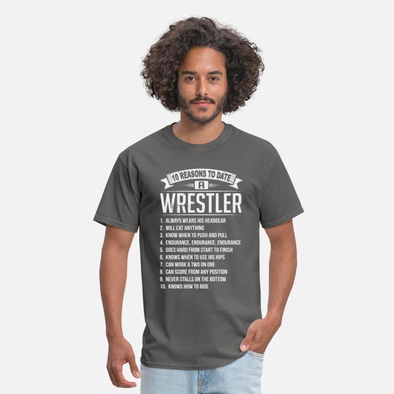 dating a wrestler shirt