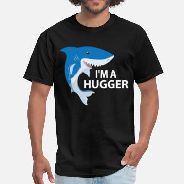 I Love Shoes Booze And Bears With Tattoos I'm A Huggar - Men's T-Shirt